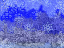 Winter baground Lizenzfreie Abbildung