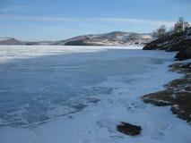 Winter Baikal Royalty Free Stock Photo