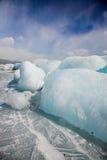 Winter Baikal Stock Photography
