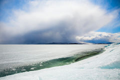 Winter Baikal Stock Photo