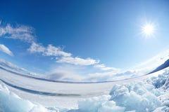 Winter Baikal Royalty Free Stock Images