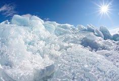 Winter Baikal Stock Photos