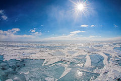 Winter baikal Stock Images