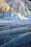 Winter Baikal lake Stock Image