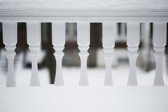 Winter Balcony Royalty Free Stock Image