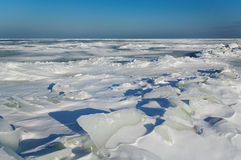 Winter at the Baltic sea. Royalty Free Stock Image