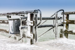 Winter on the Baltic Sea Royalty Free Stock Photography