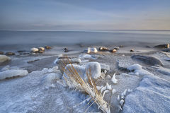 Winter on the Baltic sea Stock Images