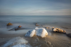 Winter on the Baltic sea Royalty Free Stock Photos