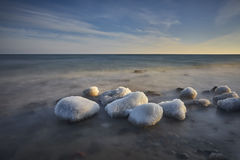 Winter on the Baltic sea, EU Royalty Free Stock Photo