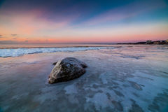 Winter Baltic sea. Landscape with Baltic sea at Tallinn beach Royalty Free Stock Photography
