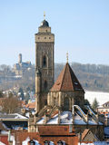 Winter in bamberg Stock Photography