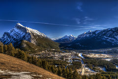 Winter in Banff National Park Royalty Free Stock Photography