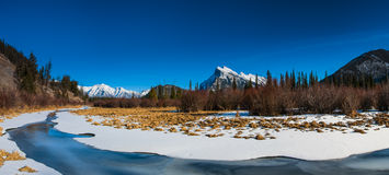 Winter in Banff National Park Royalty Free Stock Image