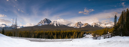 Winter in Banff National Park Stock Photos