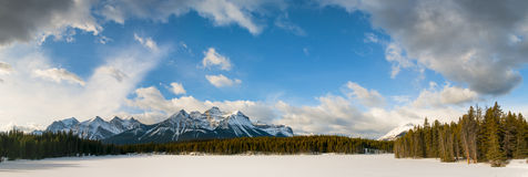 Winter in Banff National Park Royalty Free Stock Photos
