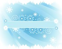 Winter banner Royalty Free Stock Image