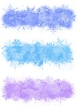Winter banners Stock Photography