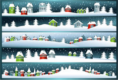 Winter banners Vector Illustration