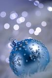 Winter Bauble Decoration Stock Photos