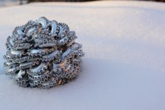 Winter bauble Royalty Free Stock Image