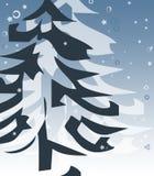 Winter-Baum stockfoto