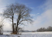 Winter in Bavaria Royalty Free Stock Photo