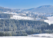 Winter,bavarian Forest,Germany Stock Photos