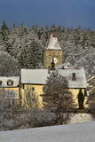 Winter in Bayerischer Wald Royalty Free Stock Photos