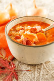Winter bean soup Stock Images