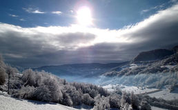 Winter. Beautiful winter in Repubilic of Srpska Royalty Free Stock Photography