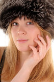 Winter beauty stock photography