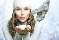 Winter Beauty Stock Photo