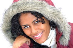 Winter beauty stock images