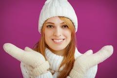 Winter Beauty Girl Royalty Free Stock Photo