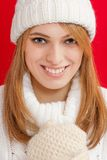 Winter Beauty Girl Stock Images