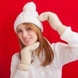 Winter Beauty Girl Stock Photography