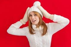 Winter Beauty Girl Royalty Free Stock Photos