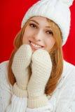 Winter Beauty Girl Stock Photos