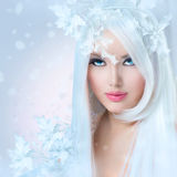 Winter Beauty Woman Stock Photography