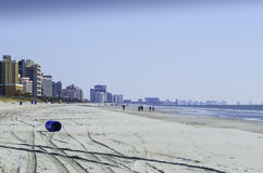 Winter bei Myrtle Beach 2 Stockbild