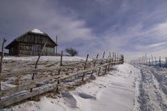 Winter bei Sirnea Lizenzfreie Stockbilder