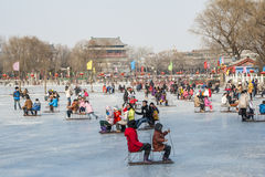 Winter in Beijing Royalty Free Stock Photos