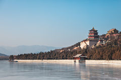 Winter in Beijing Summer Palace Stock Photo