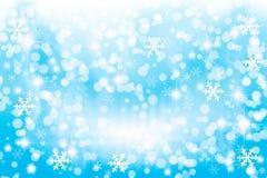 Winter beleuchtet Hintergrund lizenzfreie stockbilder