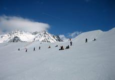 Winter-Berge extrem Lizenzfreies Stockfoto
