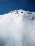 Winter-Berge extrem Lizenzfreies Stockbild