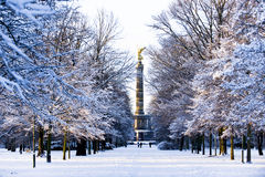 Winter in Berlin Stock Photography