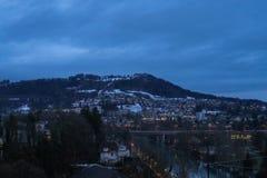 Winter in Berne stock photos