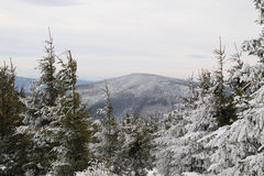 Winter in Beskydy mountains Stock Photos